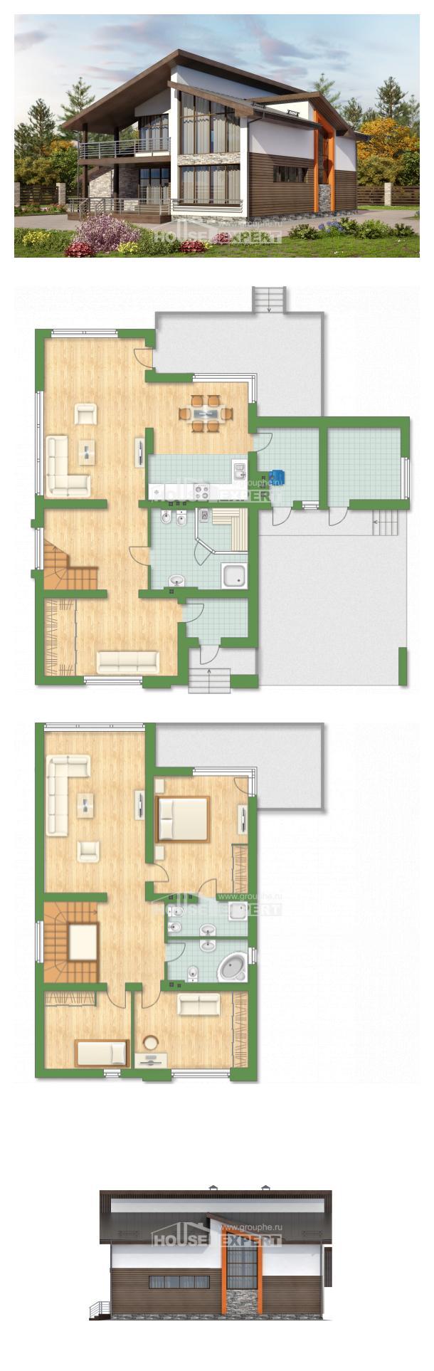 Проект дома 200-010-П   House Expert