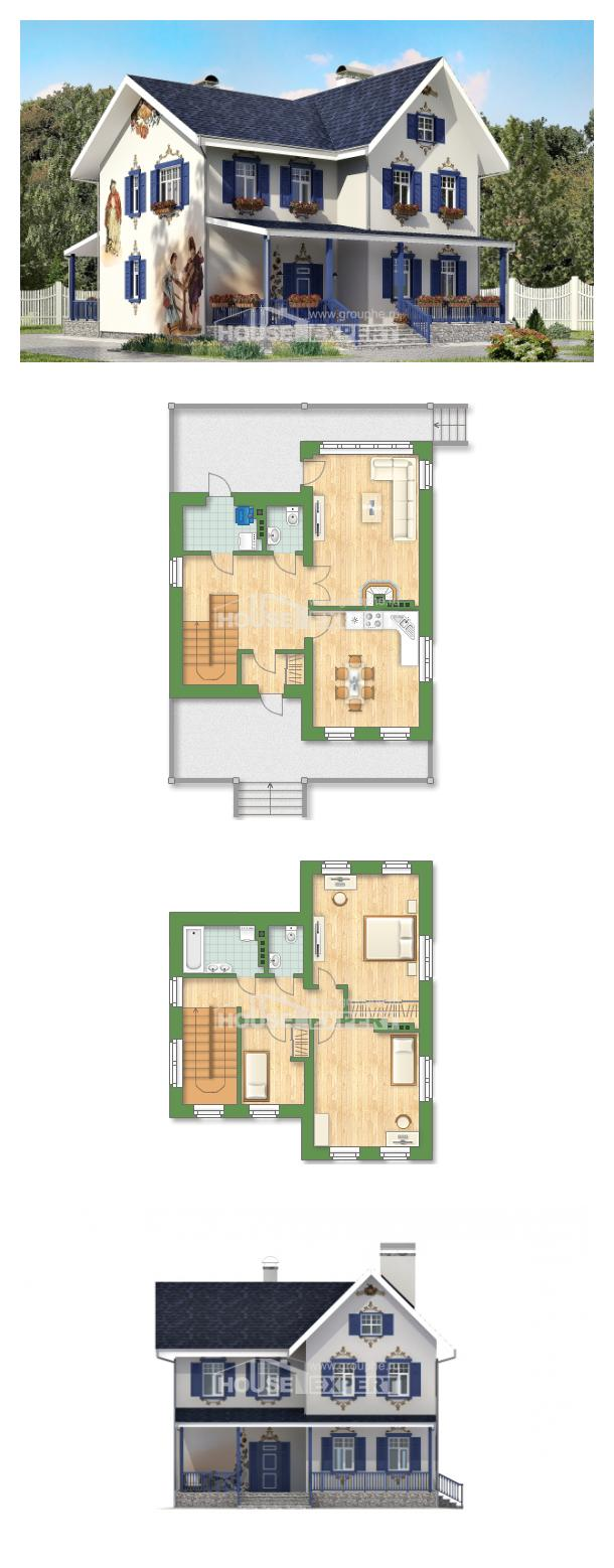 Проект дома 180-003-П   House Expert