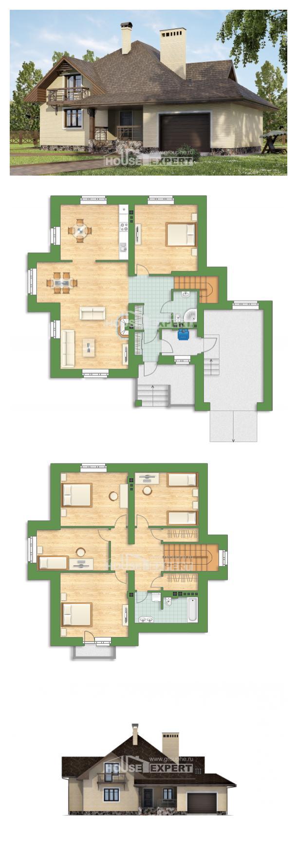 Проект дома 275-003-П | House Expert