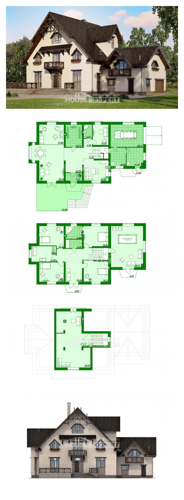Проект дома 435-002-П | House Expert