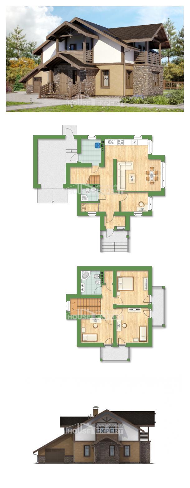 Проект дома 180-011-Л | House Expert