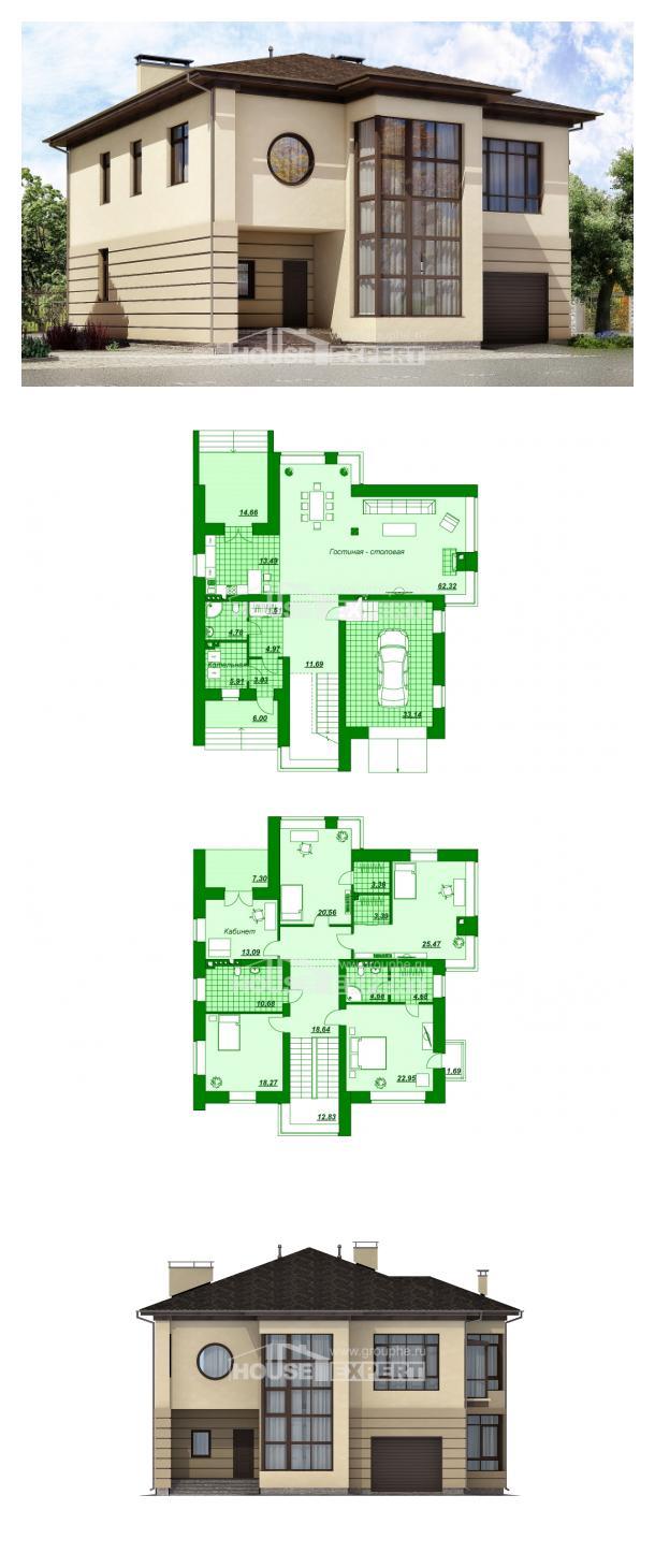 Проект дома 300-006-П | House Expert