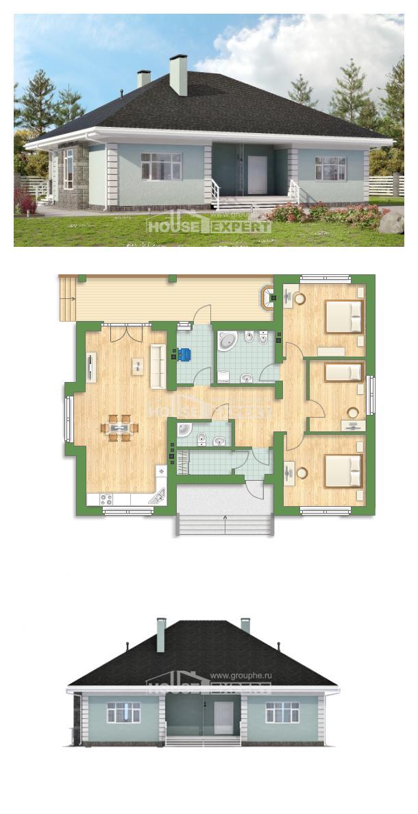 Проект дома 135-003-Л   House Expert